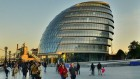 La mairie de Londres, le London City Hall, en Angleterre, le 22 octobre 2011 (Crédit : Garry Knight, via Flickr, CC-BY-SA)