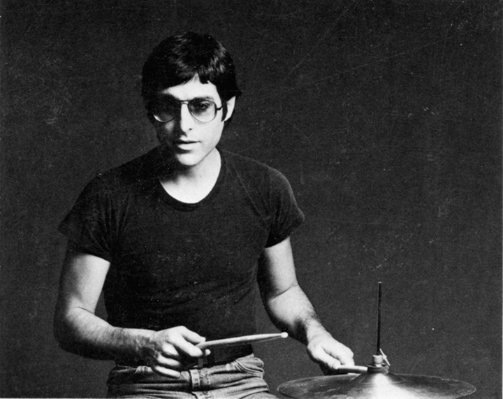 Max Weinberg when he was young