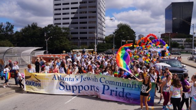 Jewish Community Supports Atlanta Pride Parade 7
