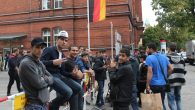 Germany is struggling to process and accommodate the 10,000 refugees streaming into the country every day. JTA