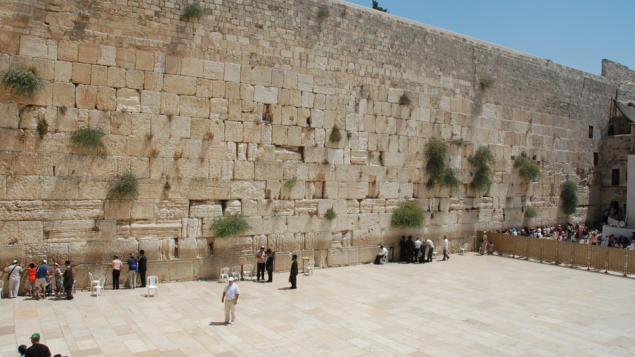 The Western Wall in Jerusalem, a destination for many tour groups in Israel. CC image courtesy of David King on Flickr