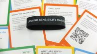 The Jewish Sensibility Cards include a blank, so the user can add a sensibility, and suggested activities.  Michael Datikash/JW
