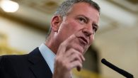 Mayor Bill de Blasio is drawing criticism from both liberal and conservative Jews.  GETTY IMAGES