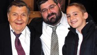 Three generations of Feldmans – Rabbi David, Rabbi Daniel, and Daniel's son Yaakov.