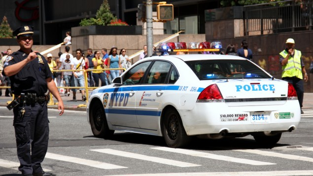 Un véhicule de la police de New York (Photo : CC BY / André Gustavo Stumpf / Flickr)