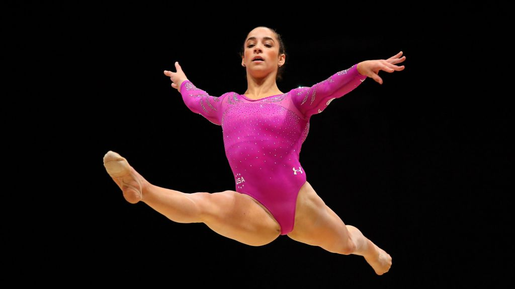 Us Gymnast Aly Raisman Has Her Eyes Set On Rio The Times