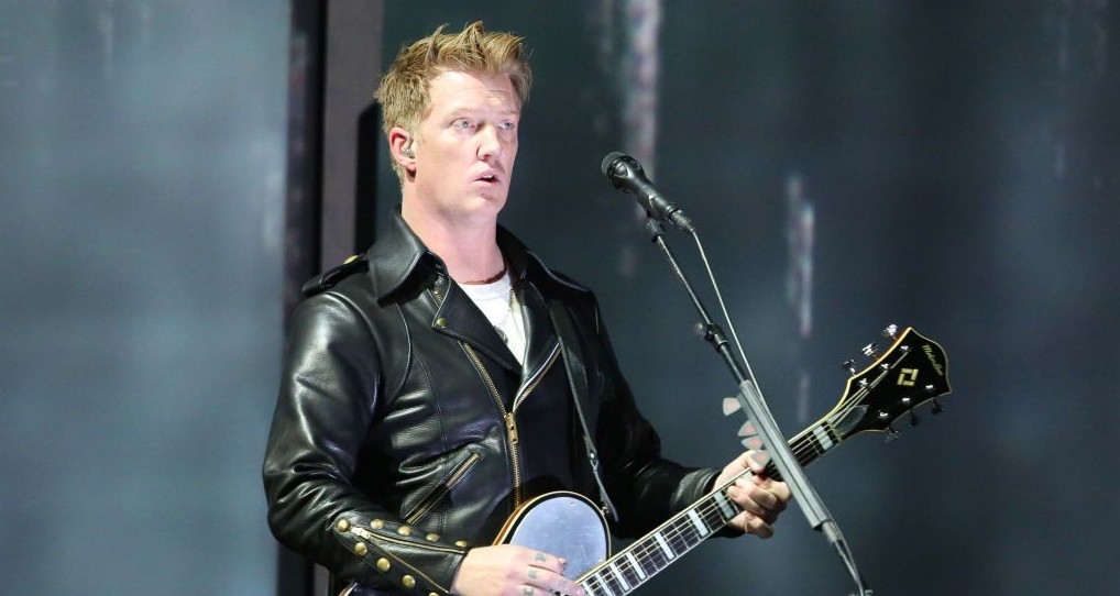 Joshua Homme of band Eagles of Death Metal, whose band was to perform at the Bataclan venue in Paris on November 13, 2015. (Photo by Matt Sayles/Invision/AP, File)