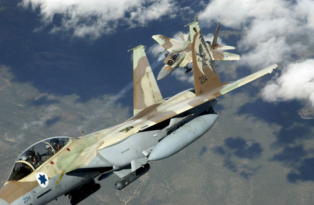 Syrian Army Claims It Shot Down Israeli Jet After Raid Near Palmyra