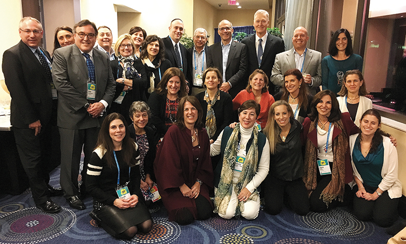 The GA delegation from the Jewish Federation of Northern New Jersey