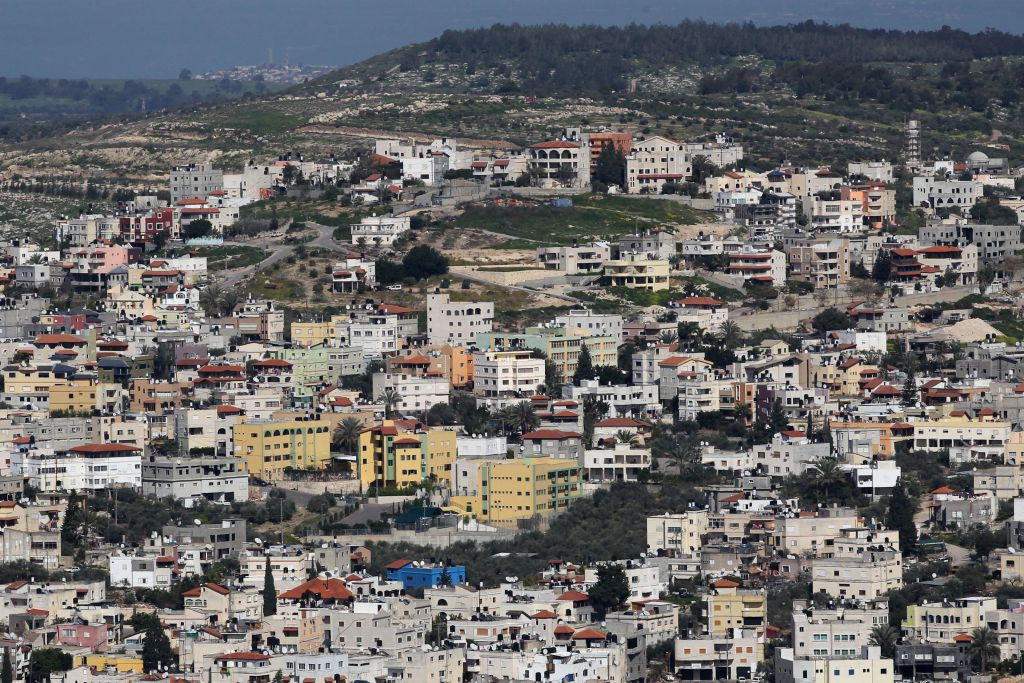 View of Kafr Kanna, in the Galilee region of Israel. March 28, 2011(Nati Shohat/Flash90)