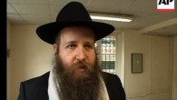 Rabbi Mendel Belinow, the head of the Chabad center in the Saint-Denis suburb of Paris. (screenshot: YouTube)