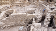 The Acra site holds remains of stronghold used by Greeks to control the Temple Mount. Courtesy of Israel Antiquities Authority