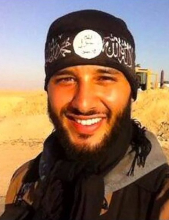 An unlocated picture posted in 2014 on his facebook account shows Foued Mohamed Aggad, who has been identified as the third bomber involved in the attacks at Paris's Bataclan music hall, police sources said on December 9, 2015. AFP/OFF/HO)