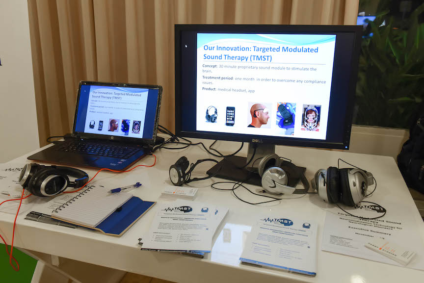 The TMST system on display at the A3I event (Courtesy)