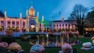 Copenhagen's Tivoli Gardens, an Old World amusement park, at night. Wikimedia Commons