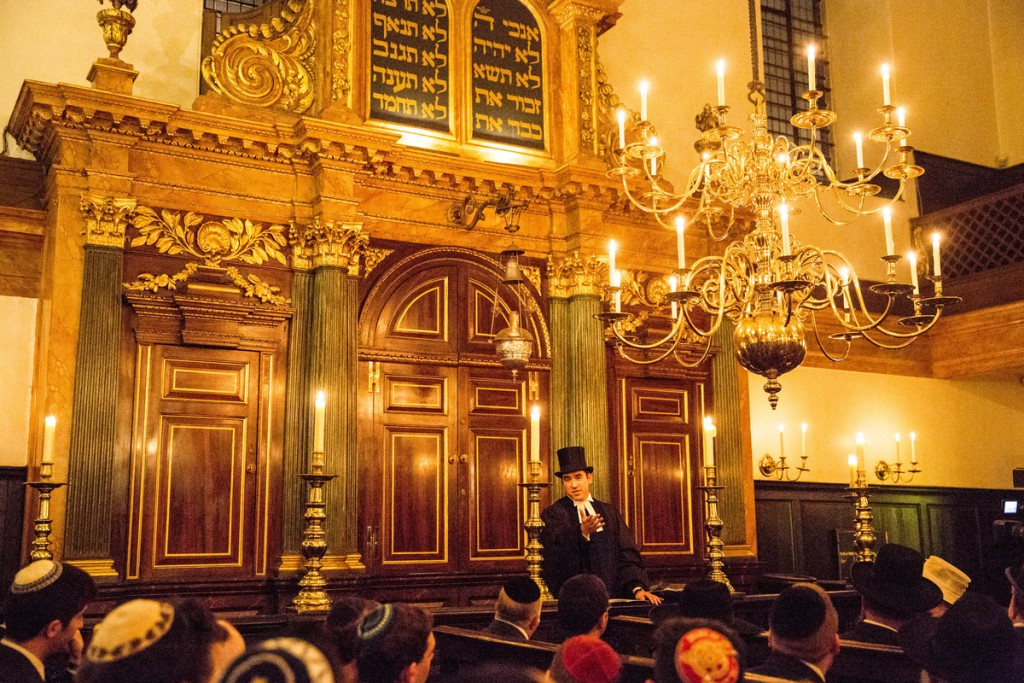 13.12.2015Images from a double Induction Ceremony for the Spanish and Portuguese Jews Congregation, held at Bevis Marks Synagogue, London.(C) Blake Ezra Photography 2015.