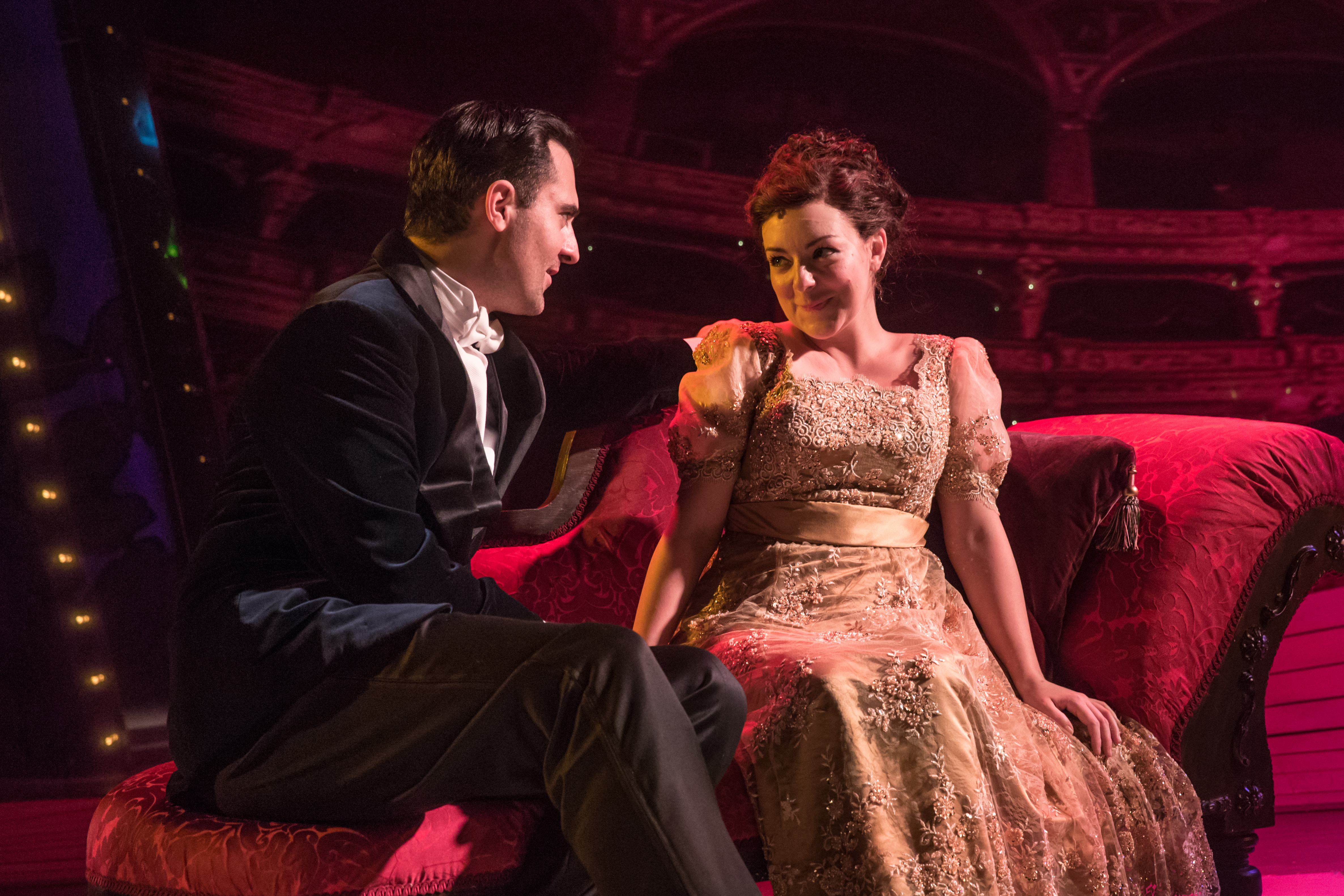 Funny Girl - Darius Campbell (Nick Arnstein), Sheridan Smith (Fanny Brice) by Marc Brenner