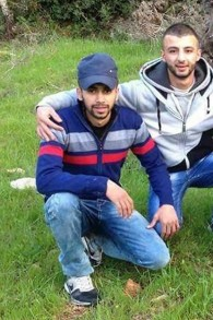 Anan Abu Habsah and Issa Assaf, both 21, from Qalandiya, named as the terrorists who killed two Israelis near Jaffa Gate on December 23, 2015 (Courtesy)