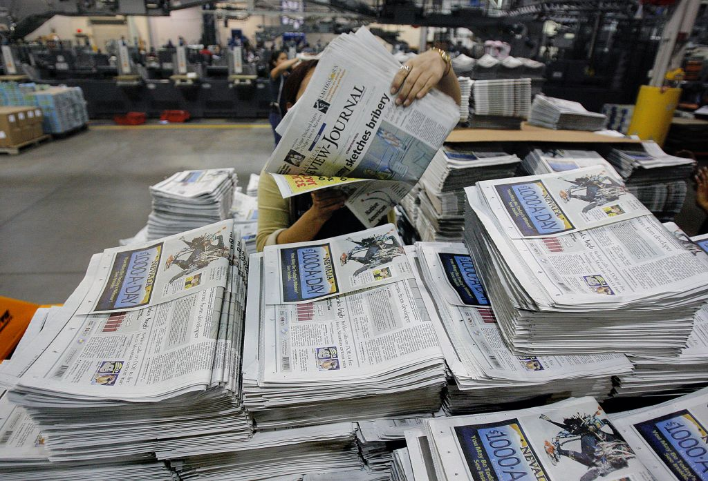 Las Vegas Journal-Review Reporters Worried About Editorial Freedom Under Adelson