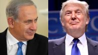 Benjamin Netanyahu, left, Donald Trump. Wikimedia Commons