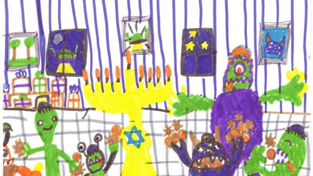 Chanukah Art Submissions 7 to 9 6