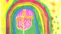 Chanukah Art Winners 6 and Under 26