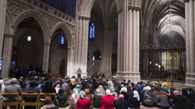 The Washington National Cathedral invited Muslims to lead their own prayers at the cathedral for the first time Nov. 14. RNS
