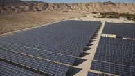 The Arava Power Company's 4.9-megawatt field sits outside Kibbutz Ketura in Israel. JTA