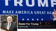 "The ""Rabbi for Trump"" Facebook page. JTA"