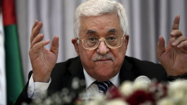 PALESTINIAN-ISRAEL-CONFLICT-ABBAS