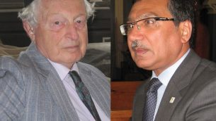 Rudi Leavor, left, Jani Rashid, right. Photos by Steve Lipman/JW