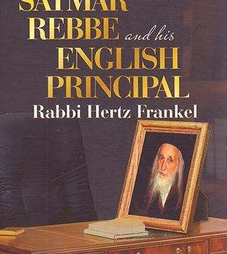 "Rabbi Hertz Frankel, ""the English Principal,"" at his Bais Rochel school. Michael Datikash/JW"
