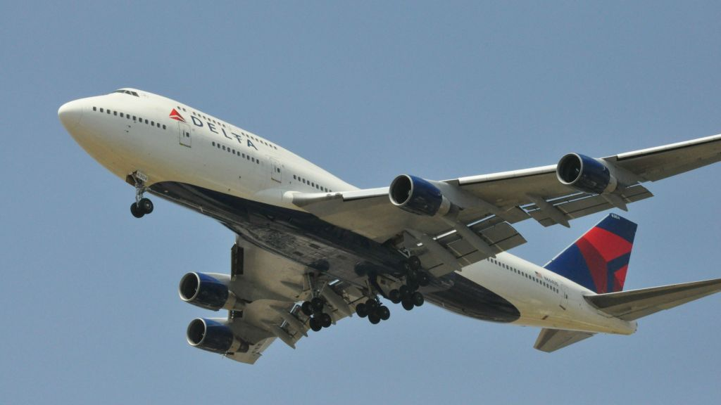 Parts drop off Delta plane during Ben Gurion take-off | The Times of Israel