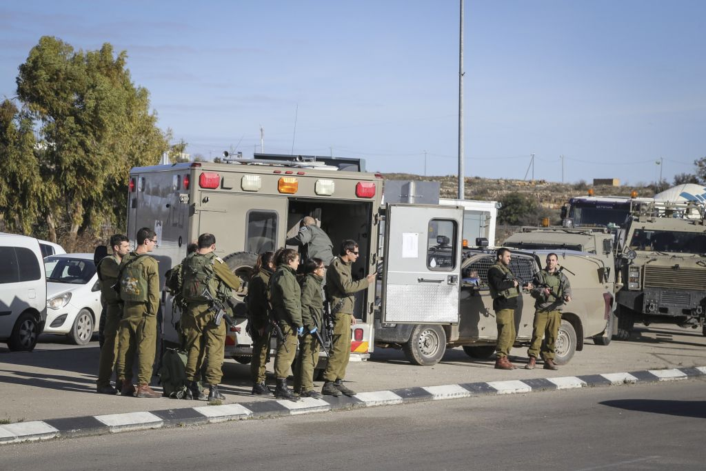 Attempted stabbing attack in West Bank settlement bloc