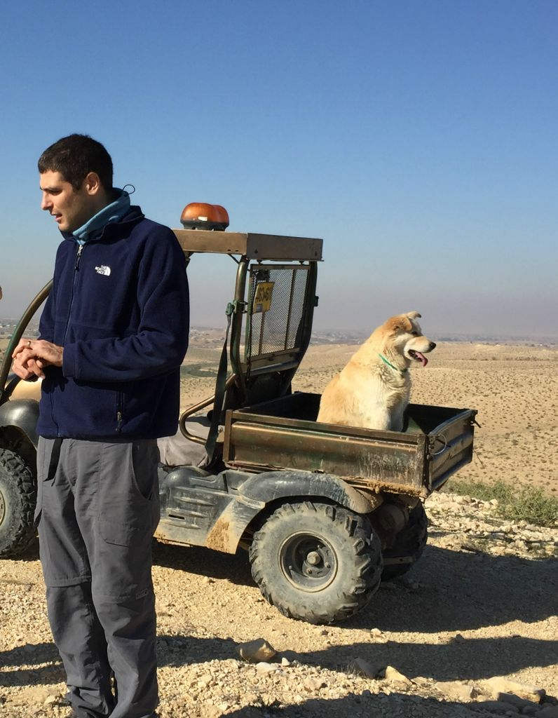 The accidental desert crowdsourcing pioneers the times for Ben klinger