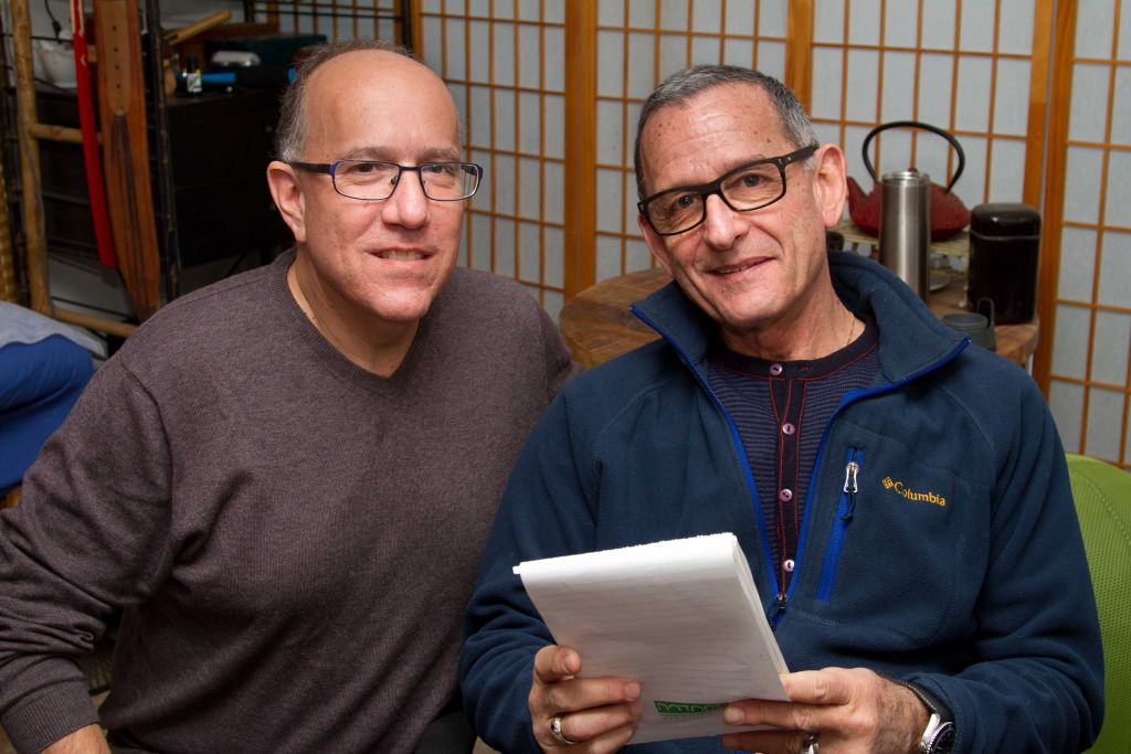 David Brinn and Alex Kerten (photo by Debbie Zimelman)
