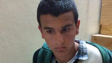 Morad Bader Abdullah Adais, arrested for the January 17, 2016 killing of Dafna Meir. (Courtesy)