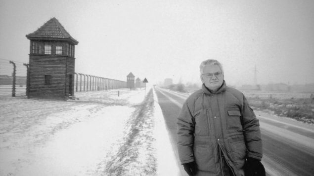 Auschwitz survivor says the goal is to prevent genocide for any group 1