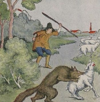Crying wolf is dangerous. Via wikimedia.org
