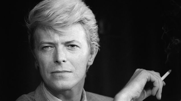 David Bowie at a press conference at the 36th Cannes Film Festival in Cannes, France, May 13, 1983. JTA