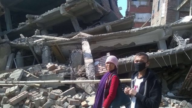 Indian Quake Rattles Jews 1