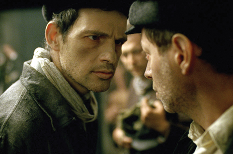 "Scene from ""Son of Saul,"" which was partially funded by the Claims Conference."