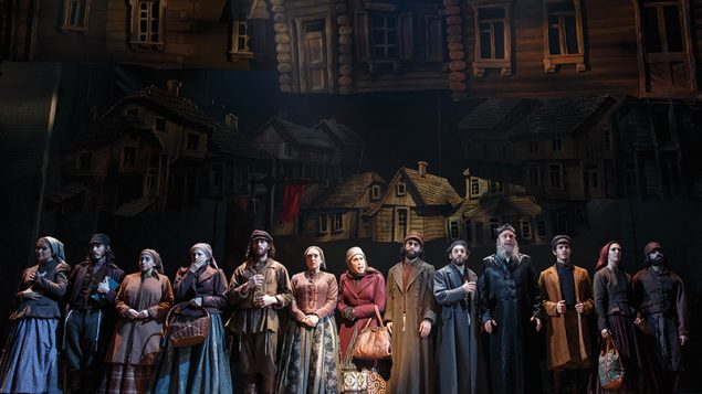"""Leaving Anatevka: A scene from the new production of """"Fiddler on the Roof."""" Joan Marcus"""