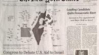 "Ruse headlines: The phony ""supplement"" was a mix of fact and fiction but the message was consistently anti-Israel."