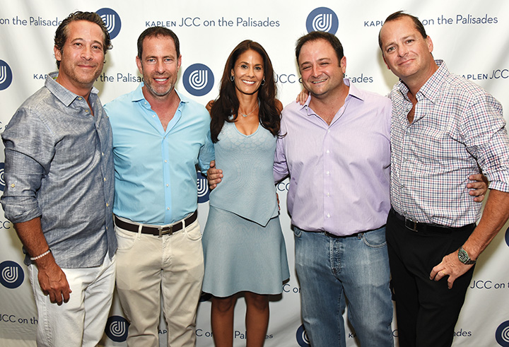 Tracy is flanked by the 2015 JCC Play Fore! the Kids golf co-chairs, Jason Rubach, Cory Hechler, Eric Kleiner, and Jeffrey Jagid. She will be a co-chair this year.