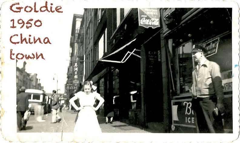 After the candy store, her parents opened a deli in Chinatown.