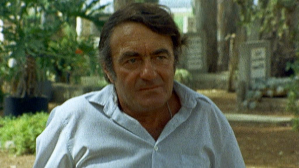 Claude Lanzmann in Israel, 1979. (Image courtesy of the United States Holocaust Memorial Museum/Yad Vashem)
