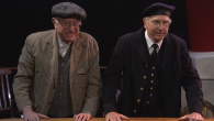 "Bernie Sanders, left, and Larry David acting together in a ""Saturday Night Live"" sketch, Feb. 6, 2016. JTA"