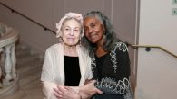 Helene Aylon and Brenda Dixon Gottschild at the WCA Awards. Jennifer McZier