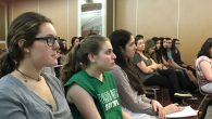 Write On For Israel students hear from IDF Spokesman, Peter Lerner. Linda Scherzer/JW